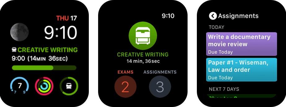 iStudiez-Pro-Legendary-Planner-Apple-Watch-App-Screenshot