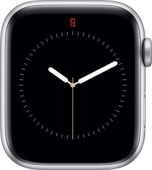 iWatch Not Connected to iPhone Icon