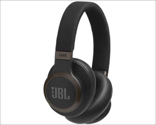 jbl live around-ear wireless headphone for iphone 11, 11 pro and 11 pro max