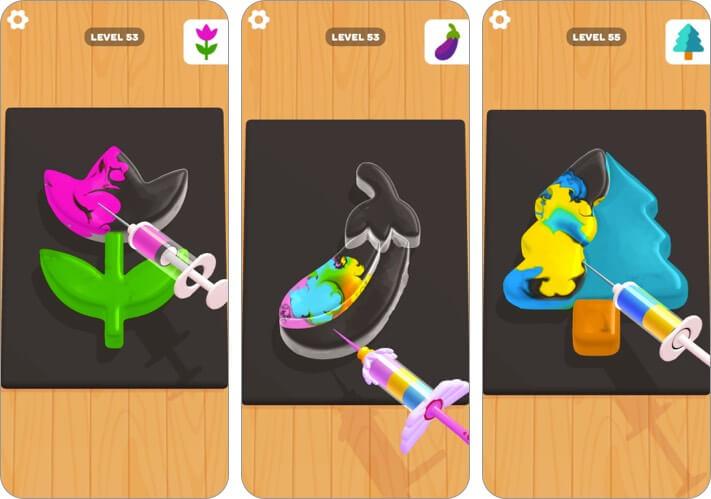 jelly dye iphone and ipad game screenshot