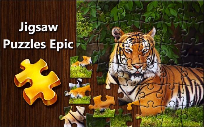jigsaw puzzles epic free mac game screenshot