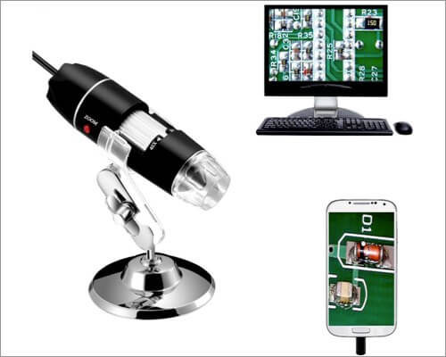 Jiusion Magnification Endoscope as Christmas Gift for Kids