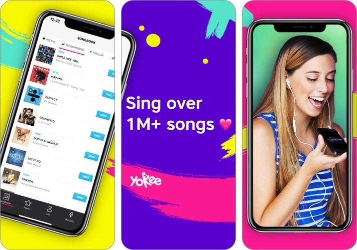 karaoke iphone and ipad app screenshot