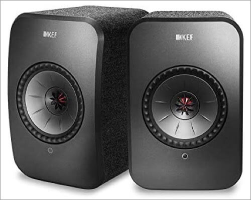 kef lsx wireless music system with airplay 2 support