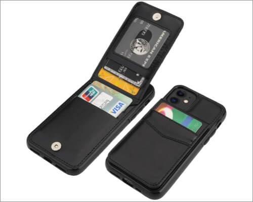 khuwey iphone 11 wallet case
