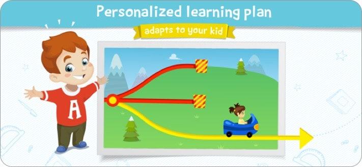 kids academy iphone and ipad app screenshot