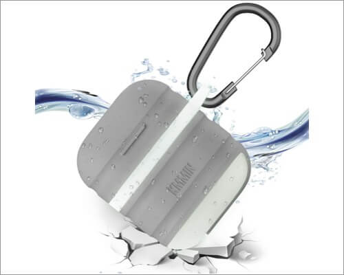 kmmin protective waterproof case for airpods