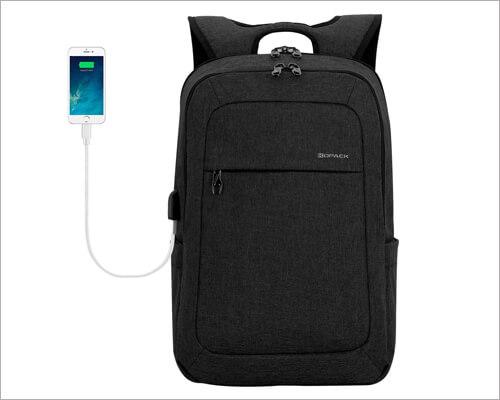 kopack Shockproof Anti-theft Laptop Backpack