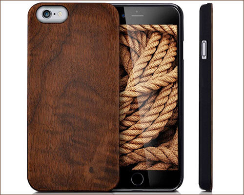kwmobile iPhone 6-6s Wooden Case