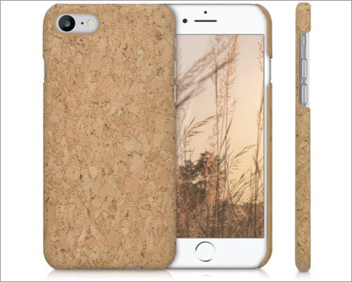 kwmobile iPhone SE 2020 Cork Wood Case