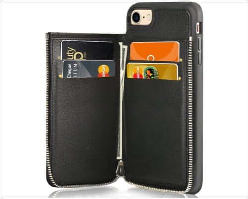 lameeku iphone se 2 card holder case