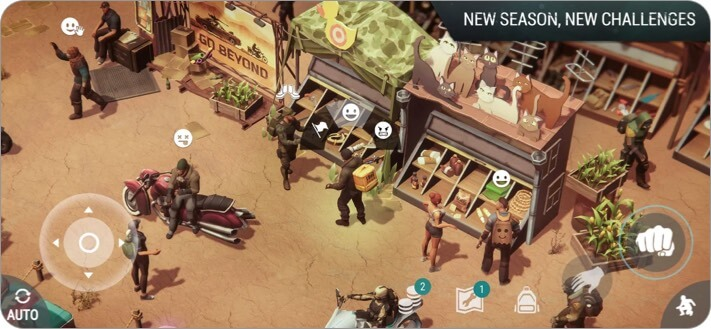 Last Day on Earth: Dead War iPhone and iPad Zombie Game Screenshot
