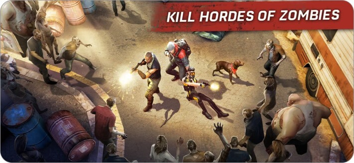 Left to Survive iPhone and iPad Zombie Game Screenshot