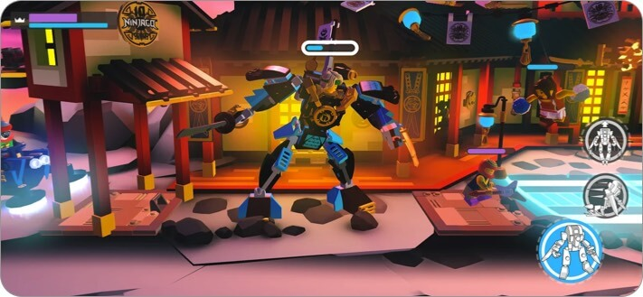 lego brawls apple arcade game screenshot