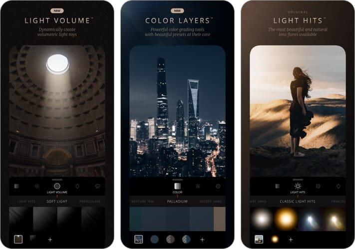 lens distortions iphone and ipad photo editing app screenshot
