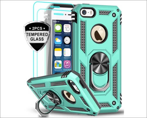 LeYi kickstand case for iphone 5