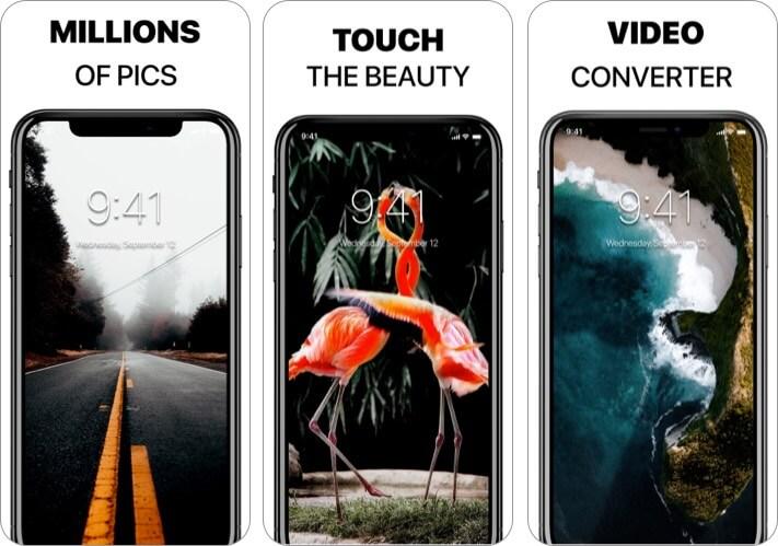 Live Wallpaper Launcher iPhone app
