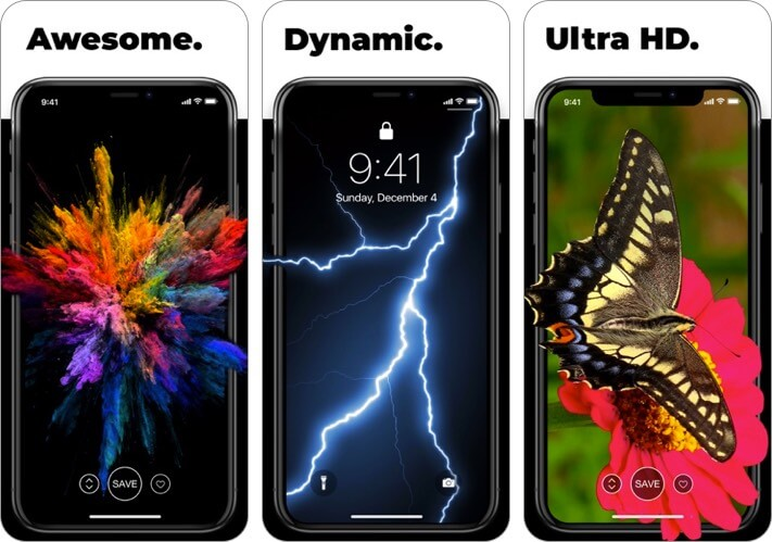 live wallpapers for me iphone app screenshot