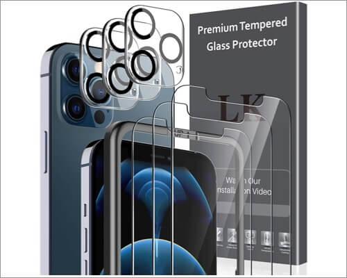 LK iPhone 12 Pro Max Camera Lens Protector