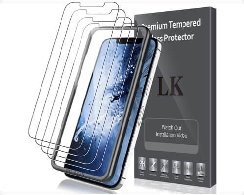 LK Tempered Glass Screen Protector for iPhone 12 Pro Max