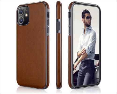 lohasic iphone 11 leather case