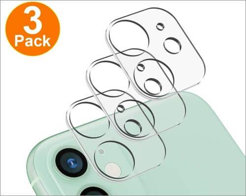 loza camera lens screen protector for iphone 11