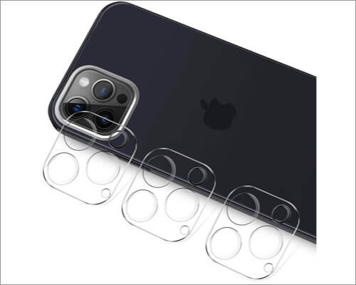 Luibor iPhone 12 Pro Max Camera Lens Protector