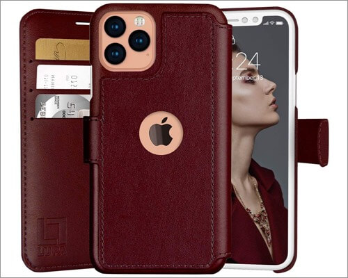 lupa iphone 11 pro wallet case for women