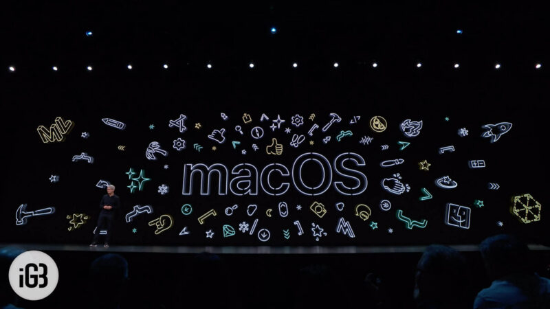 macOS Catalina Features
