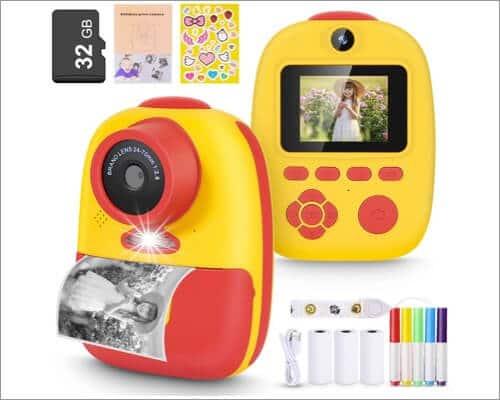 Magicfun Instant Print Camera for Kids