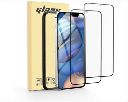 MATEPROX Anti Scratch Glass Screen Protector for iPhone 12 Pro Max