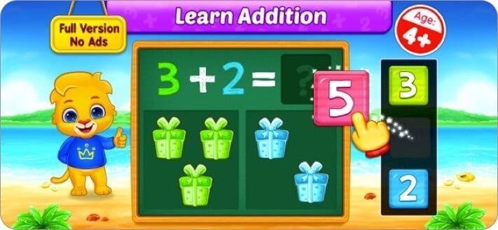 math kids iphone and ipad app screenshot