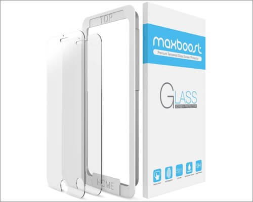 maxboost screen protector for iphone se 2020