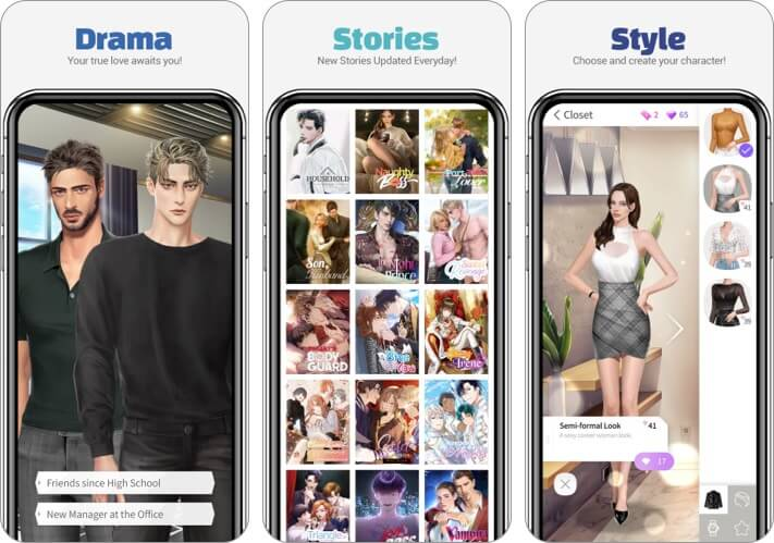 maybe Interactive Story App for iPhone and iPad Screenshot