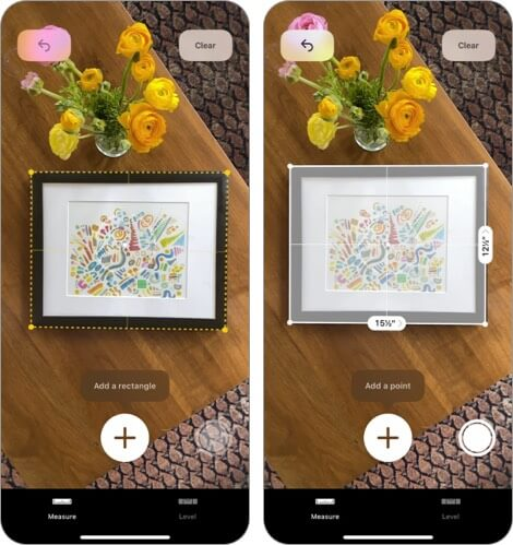 Measure by Apple iPhone and iPad Interior Design App Screenshot