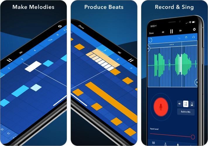 Medly iPhone and iPad Music Editor App Screenshot