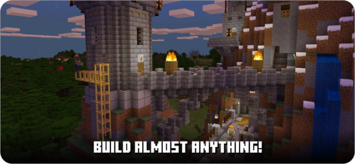 minecraft iphone and ipad multiplayer game screenshot