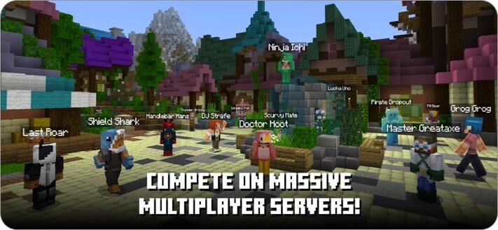minecraft iphone game screenshot