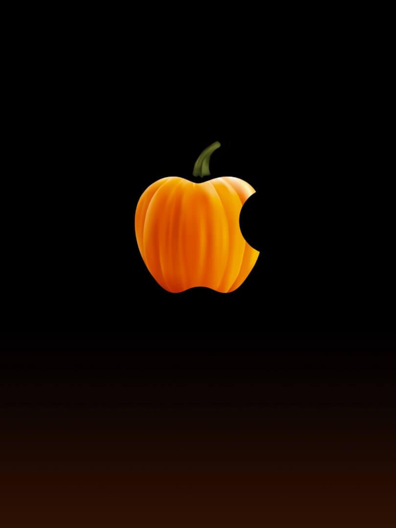 Minimalist Halloween iPhone Wallpaper