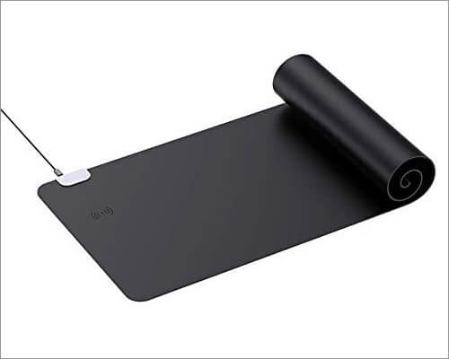 miniME Fast Wireless Charging Desk Pad