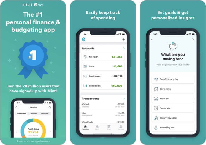 mint personal finance money iPhone and iPad App Screenshot