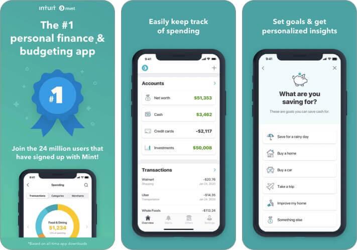 mint personal finance money iPhone and iPad App Screenshot