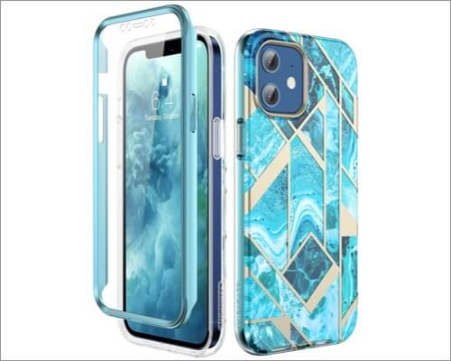 Miracase Protective Bumper Case for iPhone 12 and 12 Pro