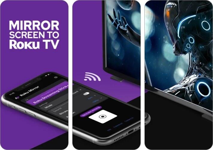 Mirror for Roku Screen Mirroring iPhone and iPad App Screenshot