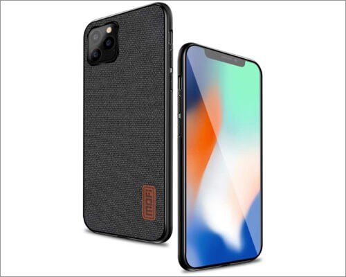 mofi thin fabric cover for iphone 11, 11 pro and 11 pro max