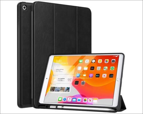 moko pu leather case for 10.2-inch ipad