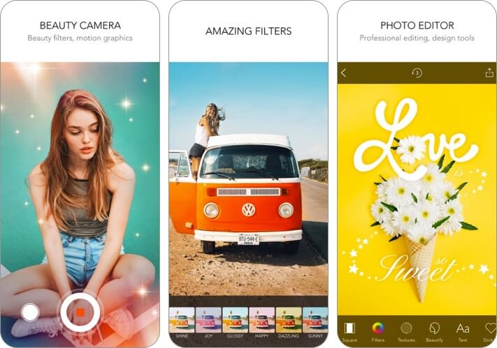 moldiv photo editor iphone and ipad app screenshot