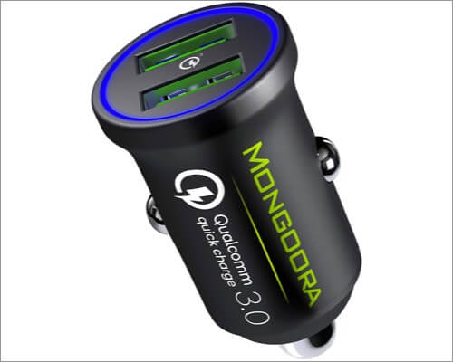 mongoora 36w car charger for iphone se 2020