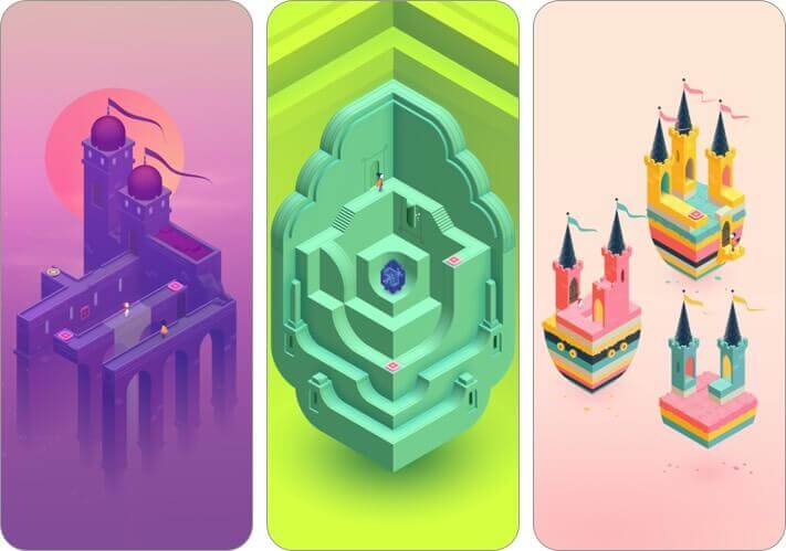 monument valley 2 iphone and ipad puzzle game screenshot