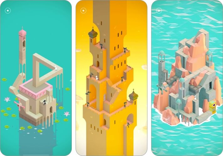 monument valley iphone and ipad game screenshot